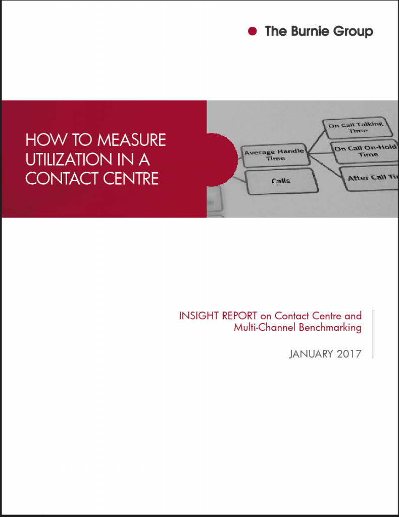 Benchmark Insights: What you should know about Utilization in a Contact Centre